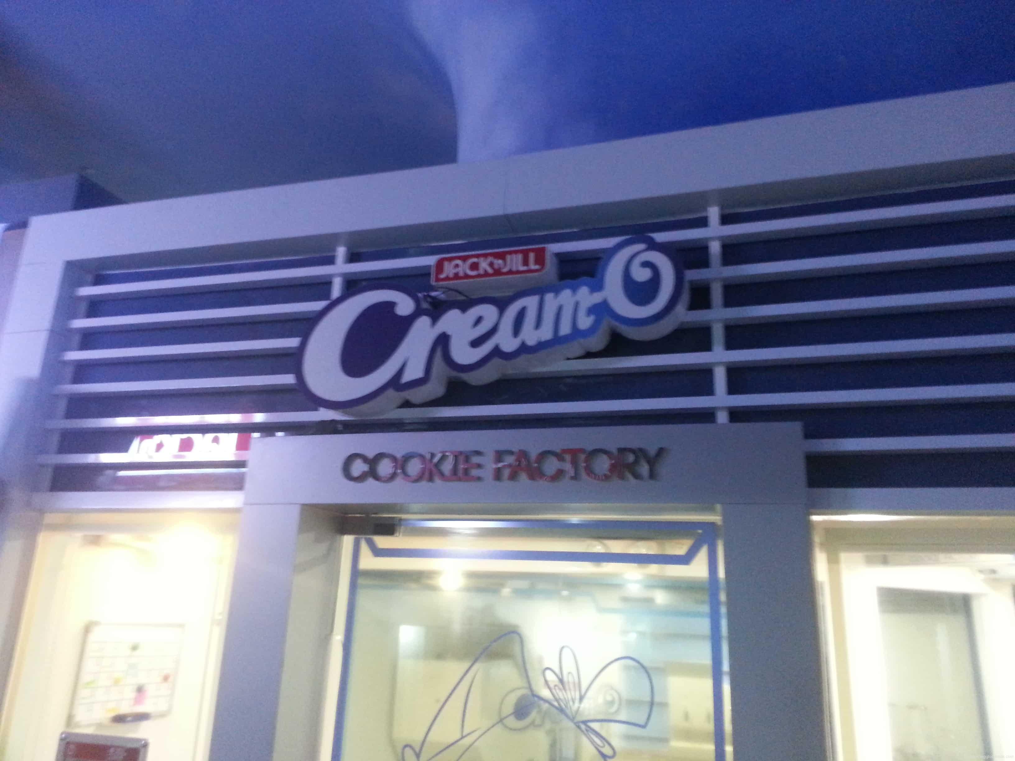 store signage  Creamo