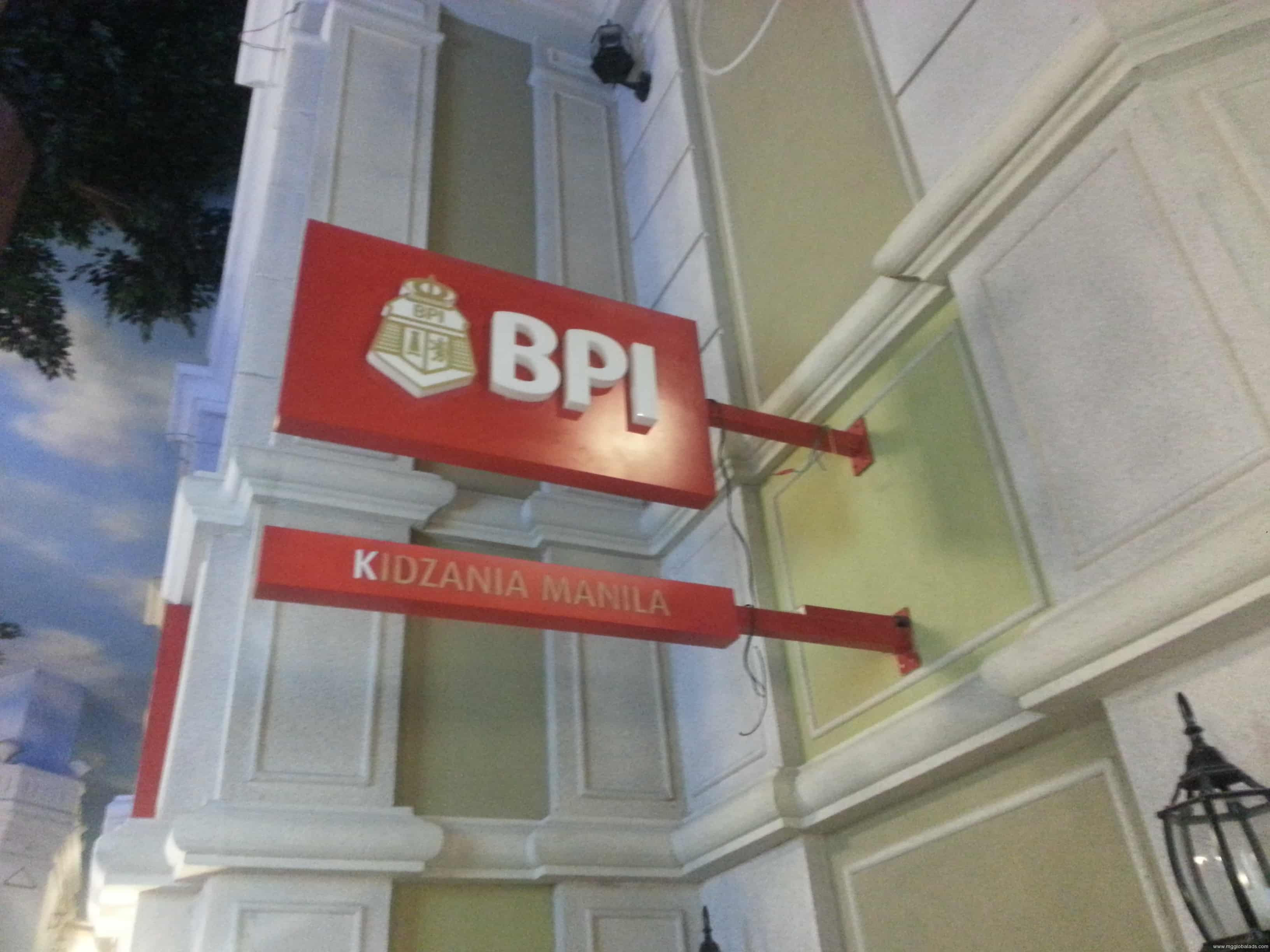 bank signage | signage |flag sign |BPI
