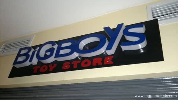 Sign Maker | Big Boys Signs| acrylic signage