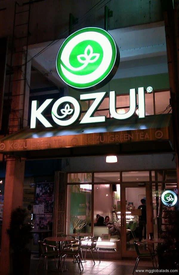 Sign Maker   Signage   KOZUI  acrylic signage