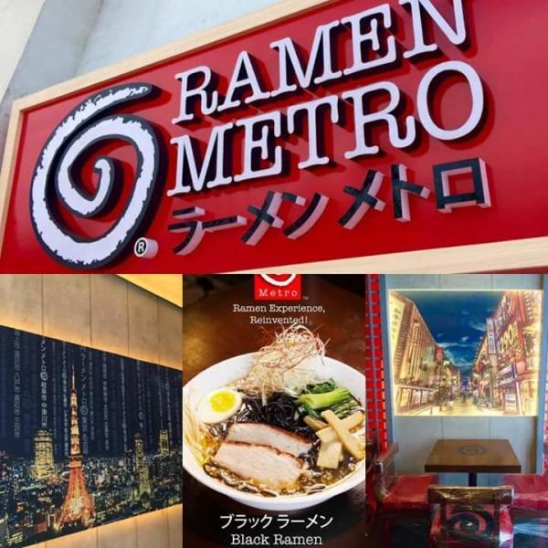 acrylic signage for ramen metro  acrylic signage restaurant signage
