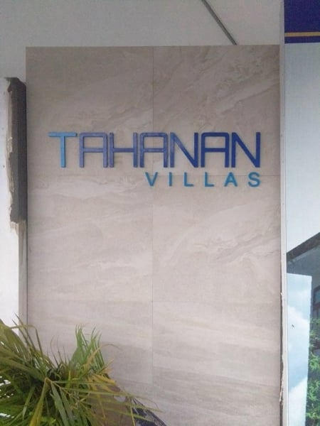 acrylic sign| condominium