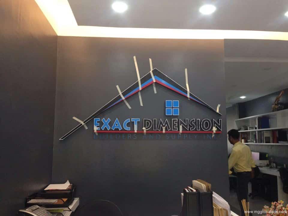 acrylic signage for lobby  acrylic signage school signage