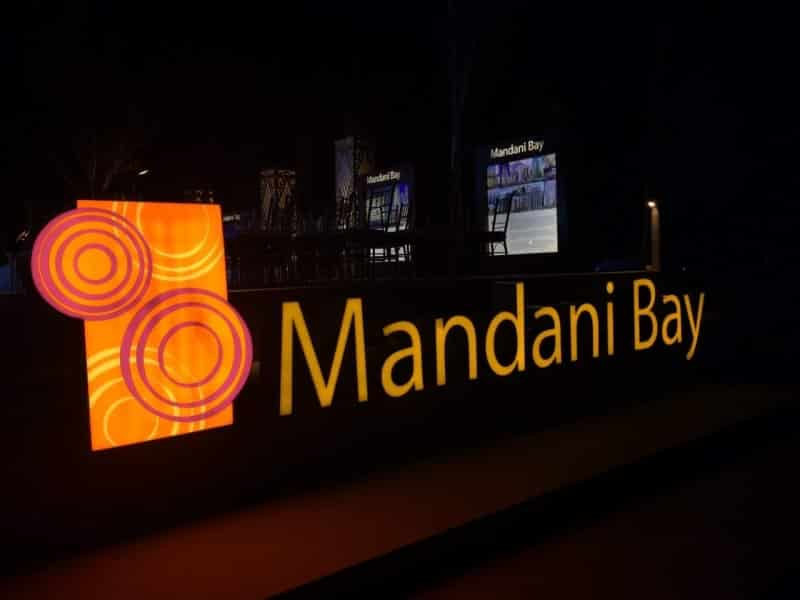 acrylic signage-mandani-building signage  acrylic signage philippines