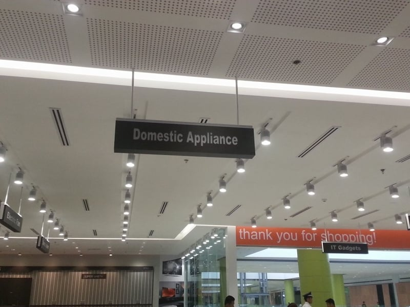 acrylic signage philippines- sm appliance  acrylic signage philippines