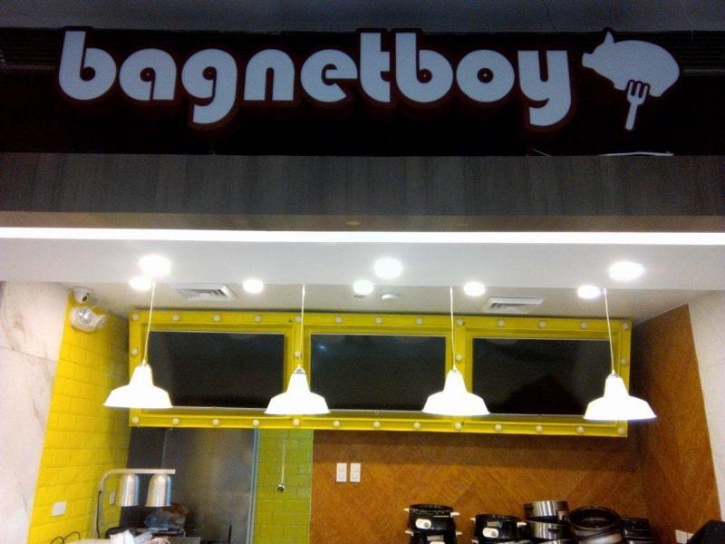 bagnetboy signage  acrylic signage philippines