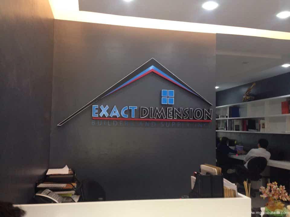 best signage company  acrylic signage school signage