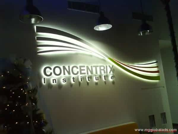 Sign Maker | Signage | Concentrix| acrylic signage