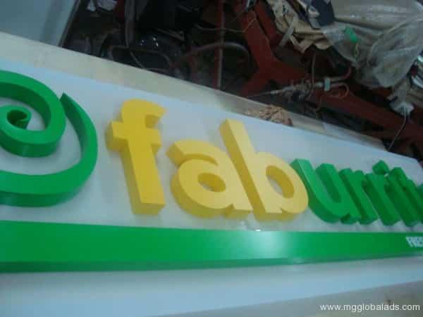 Sign Maker   Signage   FABURRITO  acrylic signage