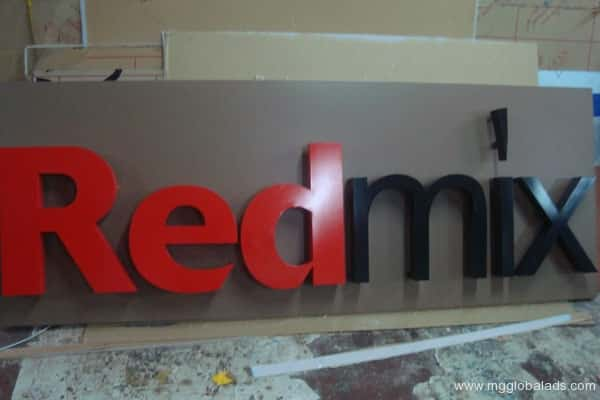 Sign Maker | Signage | Red Mix| acrylic signage