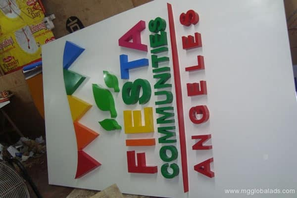 Sign Maker | Signage | FIESTA COMMUNITIES| acrylic signage