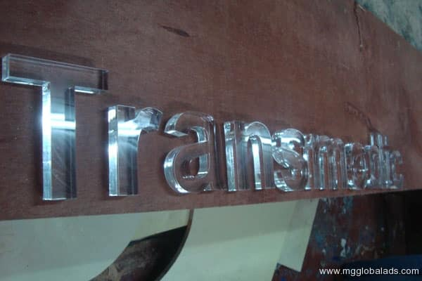 Sign Maker   Signage   TRANSMEDIC  acrylic signage