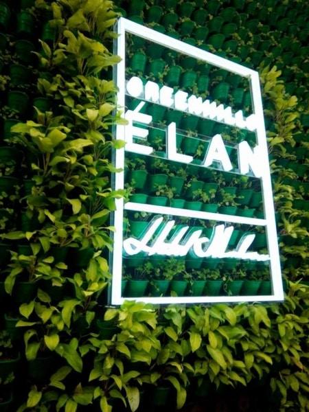 elan  acrylic signage