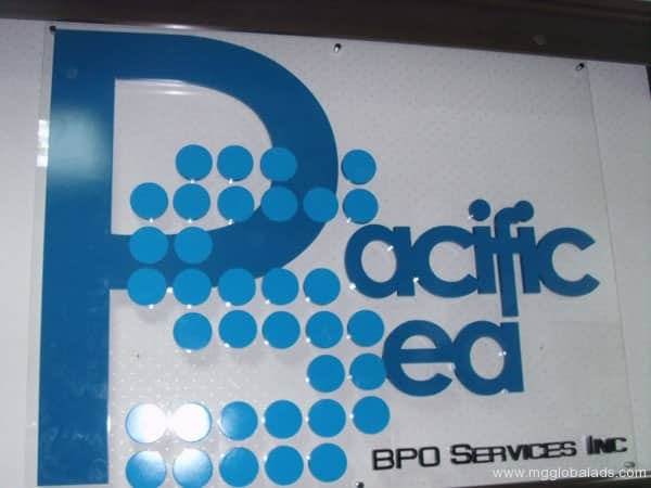 Sign Maker | Signage | Pacific Sea| acrylic signage