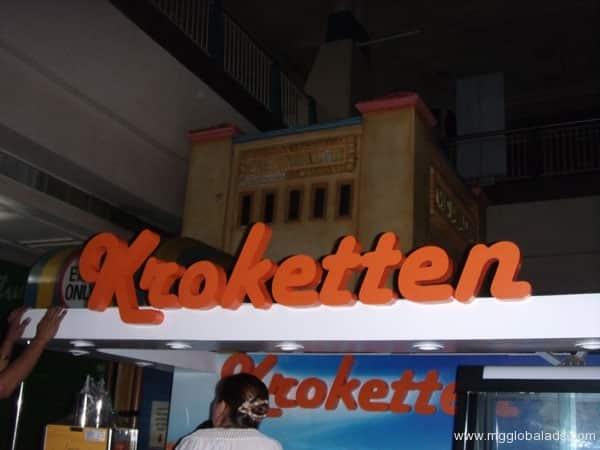Sign Maker   Signage   KROKETTEN  acrylic signage