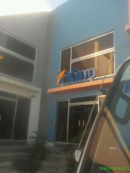 kino building signage   acrylic signage philippines