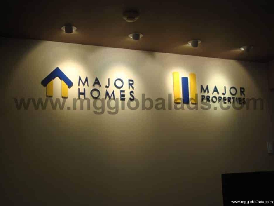 Sign Maker | Signage |Major-Homes