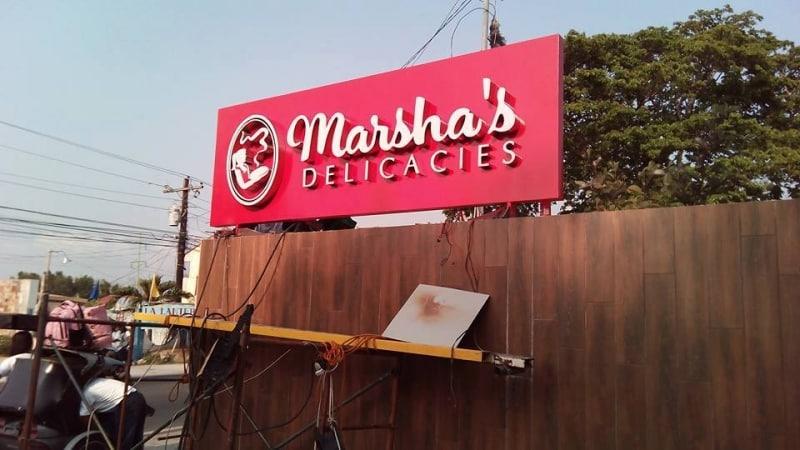 marshas   acrylic signage  acrylic signage philippines