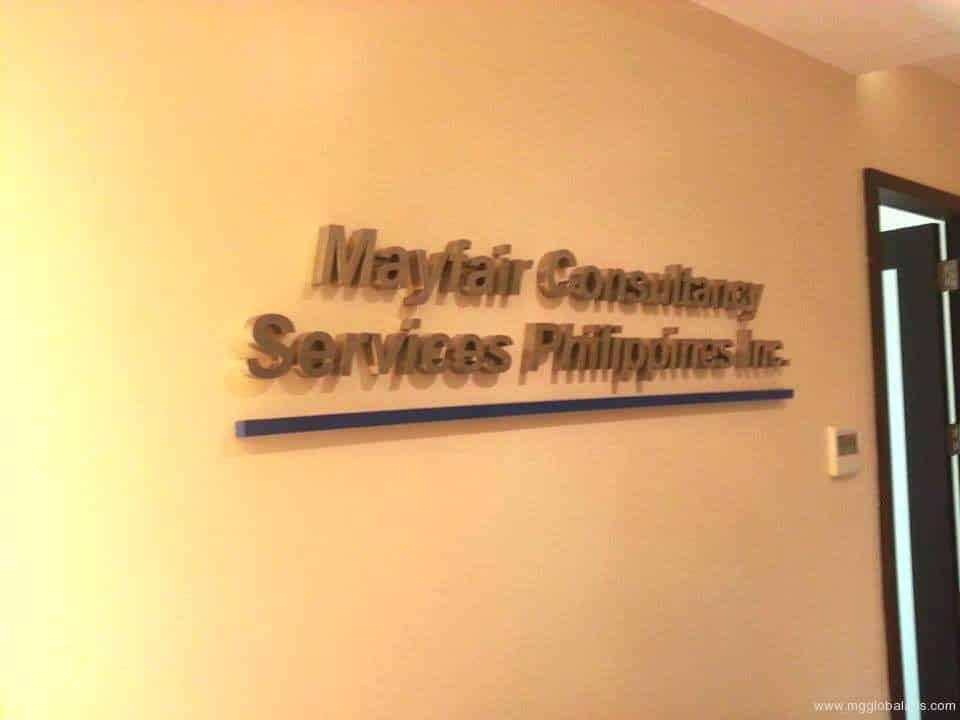 acrylic signage-mayfair  acrylic signage