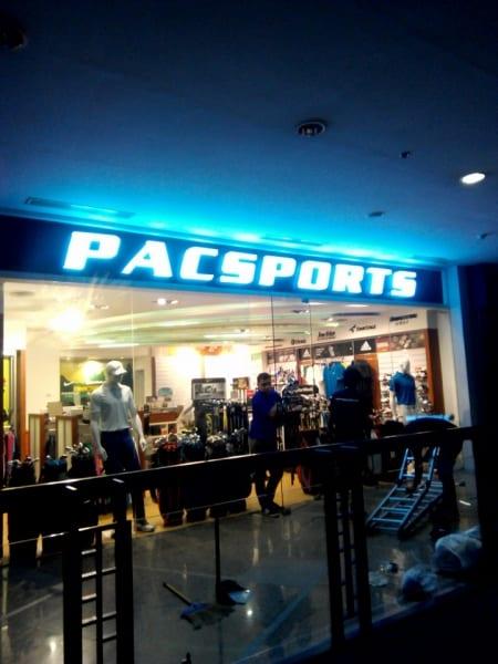 pacsport acrylic signage 2