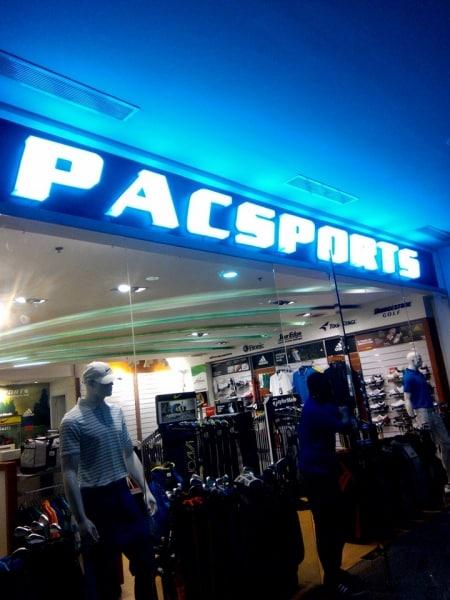 pacsport  acrylic signage