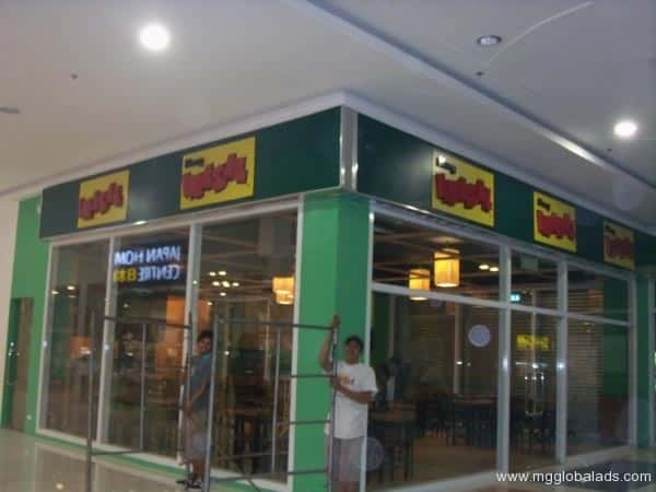 BUILD UP ACRYLIC SIGNAGE FOR MANG INASAL