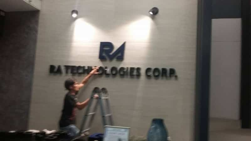 ra lobby signs| acrylic signage philippines