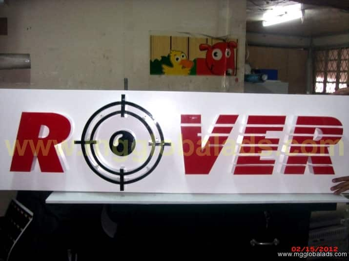Sign Maker   Signage  ROVER  acrylic signage