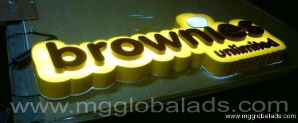 Sign Maker | Acrylic Signage | BROWNIES