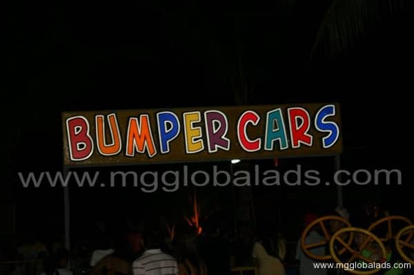 Sign Maker | Signage |BUMPER CARS