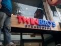 Twin Bros| acrylic signage