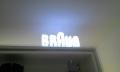 braun acrylic signs