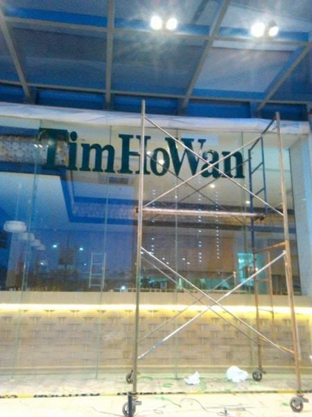 timhowan-restaurant-signage  acrylic signage philippines