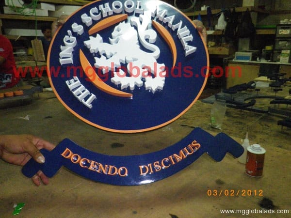 Sign Maker | Signage | International School