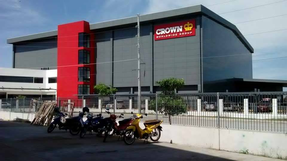 Crown International Building Sign|acrylic sign |signage maker