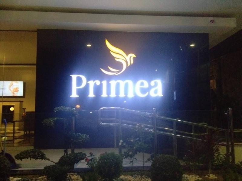 building sign primea