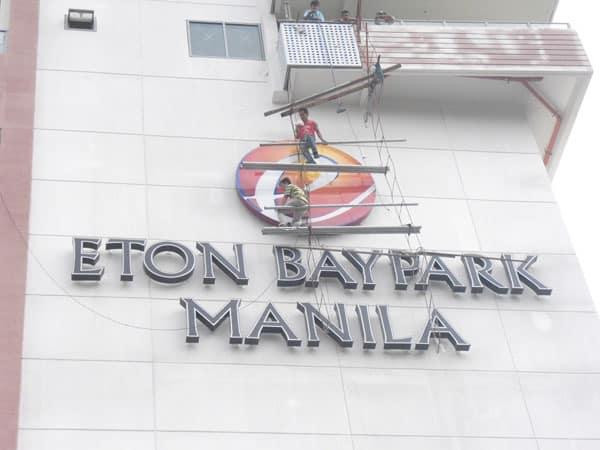 eton baypark building signage 3|stainless signage |signage maker