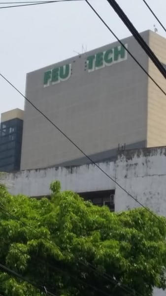 feu school signage 2| building signage