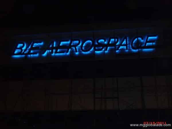 Aerospace Building Signage 2|acrylic sign |signage maker