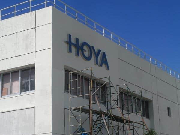 hoya building sign |acrylic signage |signage maker