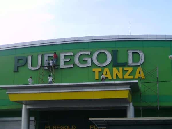 puregold tanza building signage |acrylic signage |signage maker