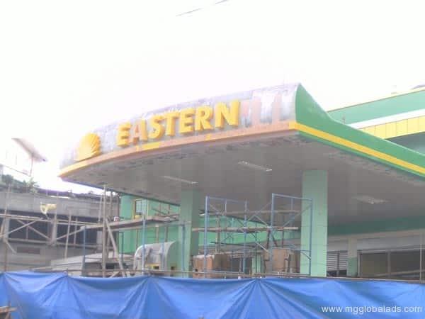 Eastern Gast station Signage|acrylic sign |signage maker