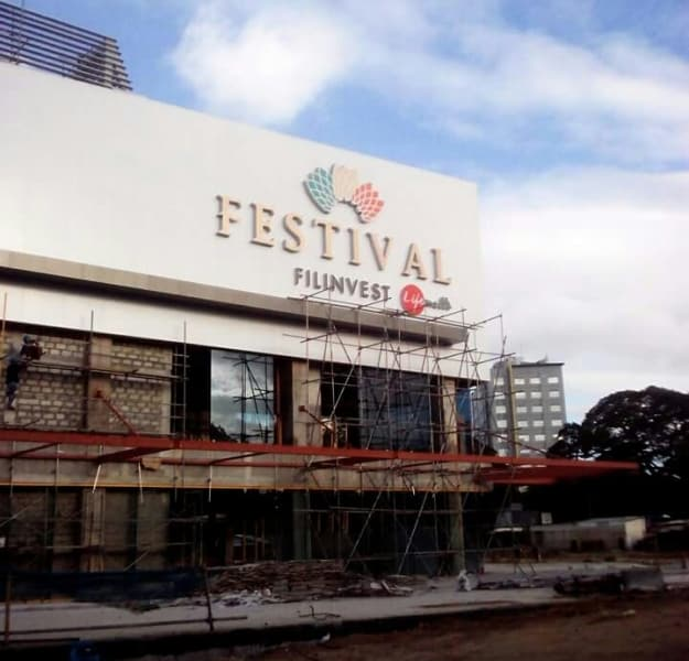 festival mall building signage 2|stainless sign |signage maker