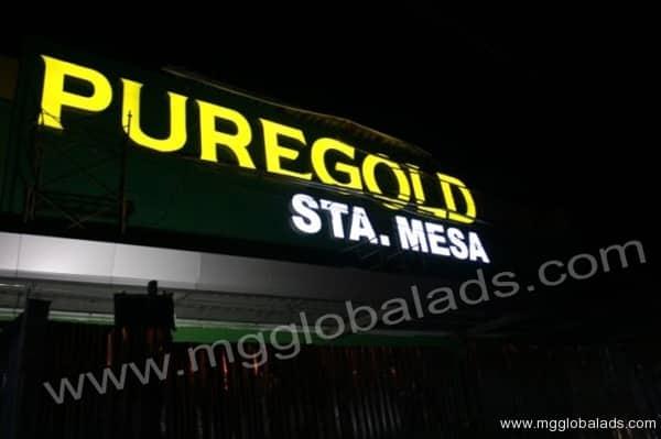 Sign Maker | Signage | PUREGOLD Sta Mesa