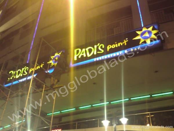 Sign Maker | Signage | PADIS POINT Tomas Morato