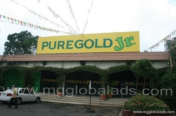 Puregold Jr. Building Signage|acrylic sign |signage maker
