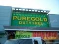 Puregold Building Sign|acrylic sign |signage maker