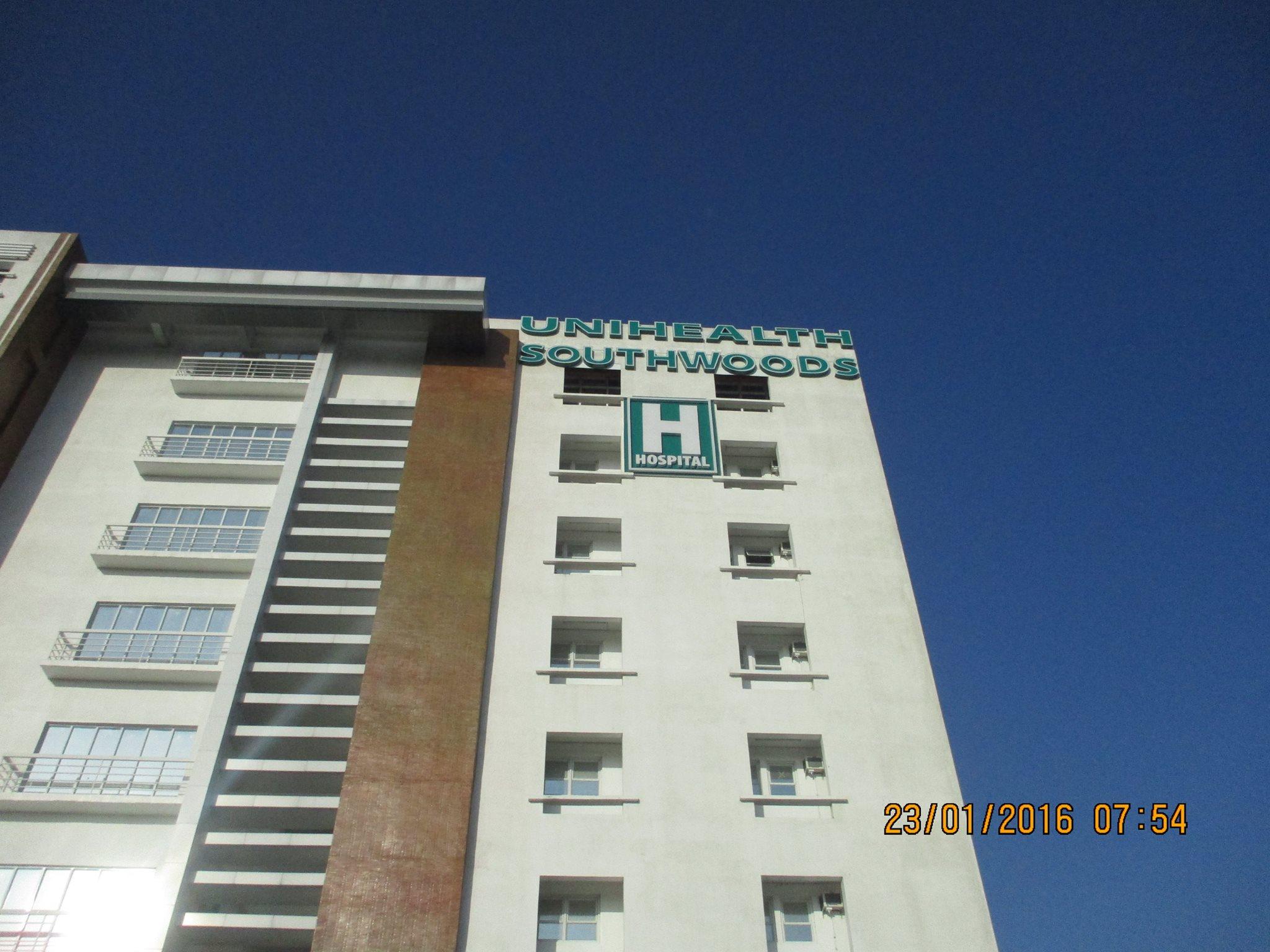 unihealth-southwoods-building-signage|acrylic sign |signage maker