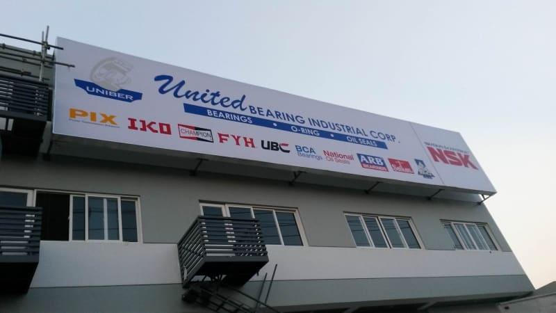 united bearing | building signage2