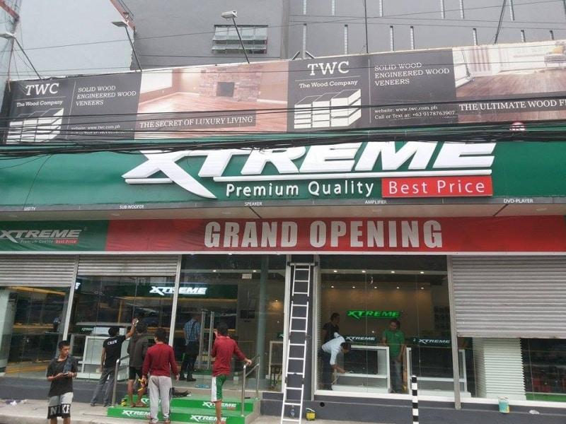 xtreme building signage